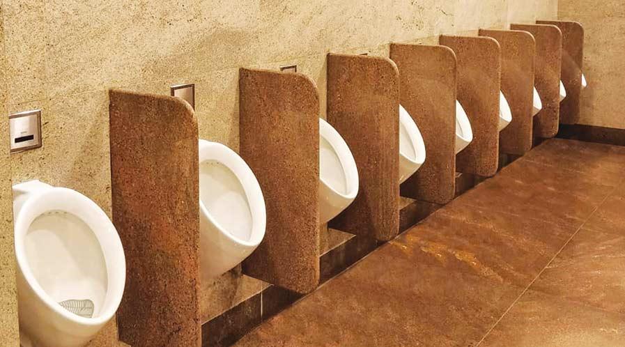 Banagalore international airport Public urinal