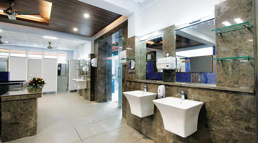 Public Washroom by Studio one