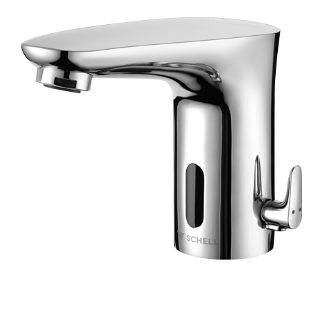 Touch free tap by Schell